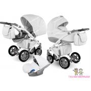 Camarelo Sirion Eco bērnu universālie ratiņi 3in1 col.SiE-6 (Eco White)
